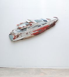 Ron van der Ende's Found Wood Sculptures