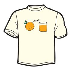 An Orange Meets His Citrusy Mother T-Shirt - The Green Head