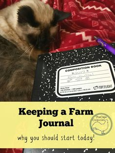 Farm journals can be an invaluable resource for backyard farmers, keeping track of important information on planting, harvesting and animal care