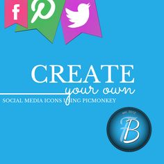 Creating Custom Social Media Buttons to Match Your Blog Theme