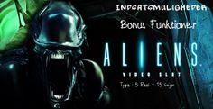 Aliens Spilleautomater er efterfølgeren som så Ripley bekæmpe en masse Aliens med en håndfuld marinesoldater, og det var en af de bedste sci-fi film af alle tider. NetEnt har taget denne topfilm og transformeret den til et detaljeret video slot spil, med første persons bonusser, hvor du bekæmper Aliens for pengepræmier.