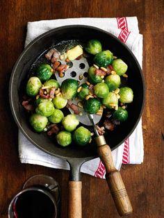 Broccoli with bacon