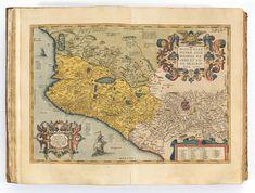Antwerp: Plantin Press, A finely coloured copy, profusely Orbis, Antwerp, Art Auction, Vintage World Maps, Kunst