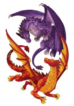 Dragons Lair Embroidery Designs