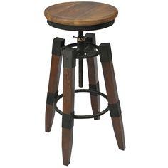 !nspire Renfrew Adjustable Bar Stool - Bar Stool Boutique