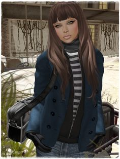 example of Second Life avatar