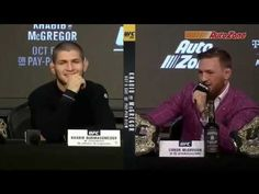 What do you think this UFC Khabib vs McGregor Press Conference Highlights video? Be sure to share this UFC Khabib vs McGregor Press Conference Ufc Live Stream, Ufc Fight Night, Conor Mcgregor, Live Events, Conference, Highlights, Muslim Men, Mma, Youtube