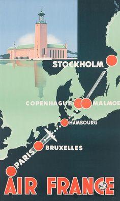 Paris-Stockholm - Air France