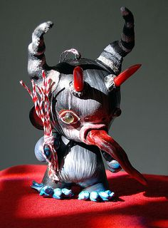 Adorable Krampus ornament!
