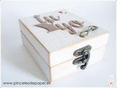 Caja para alianzas de boda