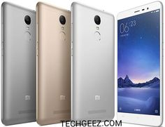 Xiaomi Redmi Note 3 Full specification    NETWORK  Technology: GSM/ HSPA / LTE  PBODY  Dimensions:150 x 76 x 8.7 mm (5.91 x 2.99 x 0.34 in)  Weight:164 g (5.78 oz)  SIM: DualSIM (Micro-SIM/Nano-SIM dual stand-by)  DISPLAY  Type:IPSLCD capacitive touchscreen 16M colors  Size:5.5 inches (72.4% screen-to-body ratio)  Resolution:1080 x 1920 pixels (403 ppi pixel density)  Multitouch: Yes  MIUI 8.0  PLATFORM  OS:AndroidOS v5.1.1 (Lollipop)  Chipset: QualcommMSM8956 Snapdragon 650  CPU…