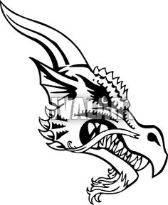 Pix For > Viking Dragon Head Template Viking Dragon, Viking Ship, Paper Piecing Patterns, Craft Patterns, Castle Party, Small Dragon Tattoos, Fairytale Castle, Dragon Head, Leather Pattern