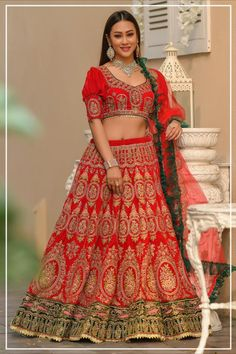 --->Kinas Designer is your one-stop shop for all types of Bridal Wear Collection. --->For more information contact us (Call/Whatsapp): +91 78028 85280 #lehenga #bridallehenga #weddinglenega #designerlehenga #lehengacholi #indianwedding #indianfashion #indianbride #weddingdress #bridalwear #bridal #indianwear#anarkalilehenga #bride #instafashion #style #traditionallehenga#india #sabyasanchi #manishmalhotra #handworklehenga Bollywood Lehenga, Bollywood Outfits, Red Lehenga, Party Wear Lehenga, Lehenga Blouse, Bollywood Fashion, Bridal Lehenga Collection, Red Bridesmaids, Indian Wedding Wear