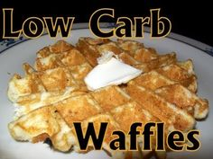 Atkins Diet Recipes: Low Carb Waffles