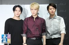JYJ - Press Conference for 2014 JYJ Concert in Taipei 140911