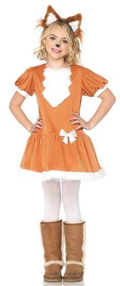 Feisty Fox Girl Costume