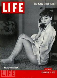 Life 1953 - Audrey Hepburn