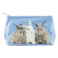 Catseye stor toilettaske - Kaniner ~ Catseye London