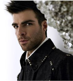 Zachary Quinto: even cooler since his coming out. And yes, he's Spock and Sylar