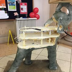 Rosie Cake-Diva Elephant Cake