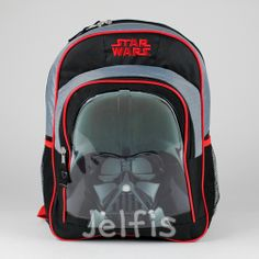 Jelfis.com - Star Wars Large Backpack -  Darth Vader Mask Black 16' Boys School Book Bag, $17.99 (http://www.jelfis.com/star-wars-large-backpack-darth-vader-mask-black-16-boys-school-book-bag/)