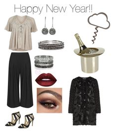 """""""Happy New Year!!"""" by susette-bryson on Polyvore featuring Manon Baptiste, River Island, Nina, Lunares, Bernard Delettrez, Dyrberg/Kern, Chico's and seeyou"""