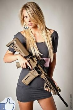 Girls, Guns, & Gold::: sexy girls hot babes with guns beautiful women weapons Elfa, Military Girl, Female Soldier, Warrior Girl, Military Women, Dangerous Woman, Badass Women, Pinup, Amazing Women