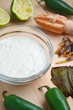 Roasted Jalapeno Mayo...not a fan of mayo but this looks like a tasty sauce