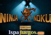 Juego de Ninja Noku | JUEGOS GRATIS: Ayuda a este ninja en la busqueda de las esferaz del poder que se encuentran perdidas en un mundo extraño, para ello debes de pasar una serie de obstaculo y eliminar a mucho enemigos, muevete con las teclas de direccion y ataca con la barra espaciadora.