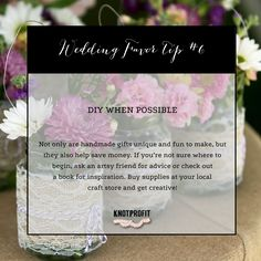 Need ideas for saving on your favors? Check out: http://knotprofit.com/blog/8-tips-saving-wedding-favors/