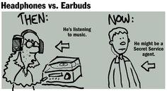 Do you prefer #headphones or #earphones?
