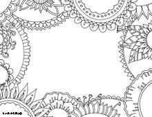 100's of FREE downloadable adult coloring pages. Really intricate and great designs on multiple subjects!