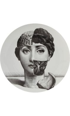 Fornasetti, Theme Variations Decorative Plate.