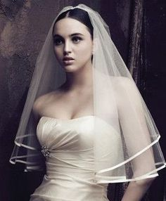 New bridal veil Short Wedding vail 1.45x1.4 meters lace veil Wedding Accessories
