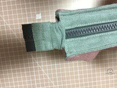 Step by Step Sewing. DIY Make Up Bag