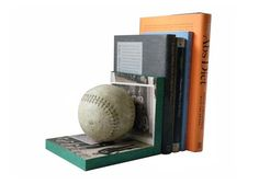 Cool DIY Gifts to Make For Your Boyfriend - DIY Baseball Book End - Easy, Cheap and Awesome Gift Ideas to Make for Guys - Fun Crafts and Presents to Give to Boyfriends - Men Love These Gift Card Holders, Mason Jar Kits, Thoughtful Handmade Christmas Gifts - DIY Projects for Teens http://diyprojectsforteens.com/diy-gifts-boyfriend