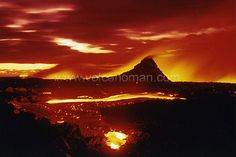 """Awesome """"volcanic"""" photograph by our Elite Immortal photographer G. Brad Lewis! Hard to believe that this  """"Lord of the Rings"""" look exists in the real world.    Brad Lewis is a true example of a man living his dream."""