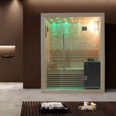 Sauna Finlandese Compatta | Sauna Infrarossi E Finlandese ... Modernes Gartenhaus Aus Pappelholz