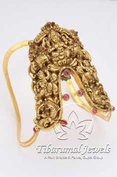Indian Jewellery and Clothing: Temple design Ara Vanki/Arm let from TibarumalJewels..