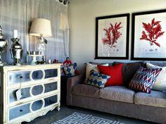 urban retreat furniture. loving the new mirrored chest and artwork urban retreat furniture
