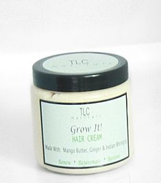 TLC Naturals Grow It! Hair Growth Cream is formulated for such as hair loss, chemo hair loss, alopecia and slow hair growth, with results in just 2 WEEKS!