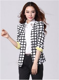 Auspicious Long Sleeves Fancy Korean Blazer
