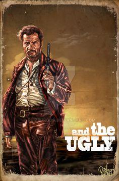 "johnny-dynamo: ""The Good, The Bad and The Ugly, by Juan Carlos Ruiz Burgos """