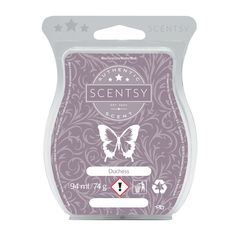 DUCHESS SCENTSY BAR Opulent and daring, this bold blend of green mandarin, golden birch, chic vetiver and sweet, creamy caramel is a diva in the making.