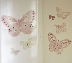 I love the Camille Butterflies Decal Set on potterybarnkids.com