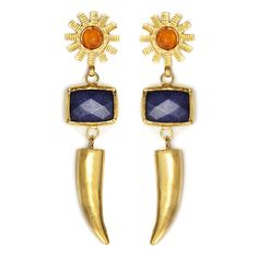 FIND HERE!  Tiklari Feray Earrings  Shop for more fashion jewelry @ www.tiklari.com  $76