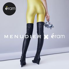 Envie d'anticonformisme ? Venez découvrir la collection exclusive en édition limitée #Menudier x #Eram !  Laissez votre côté rock, félin ou même audacieux s'exprimer …