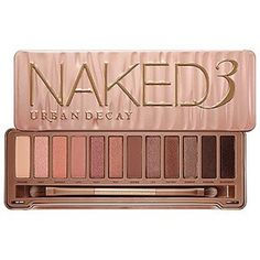 Urban Decay Naked3 Palette I love my Naked 2 but 3 is even more amazing!