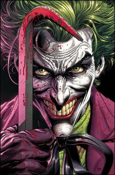 Joker Comic, Joker Dc, Batman Comic Art, Batman Comics, Joker And Harley Quinn, Batman Robin, 3 Jokers, Three Jokers, Dark Knight