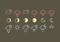 Grab this free set of weather icons, in both AI and EPS format. Hope you enjoy it!